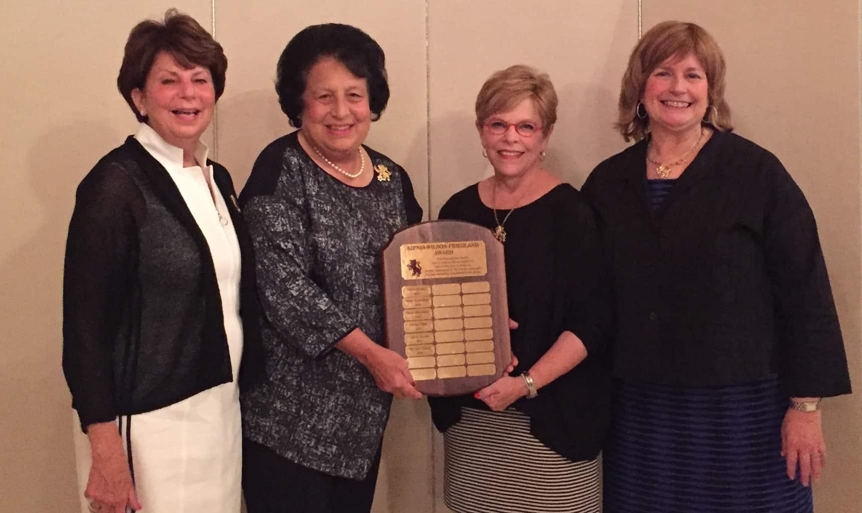 marlene-tenenbaum-gerson-honored-with-2016-kipnis-wilsonfriedland-award
