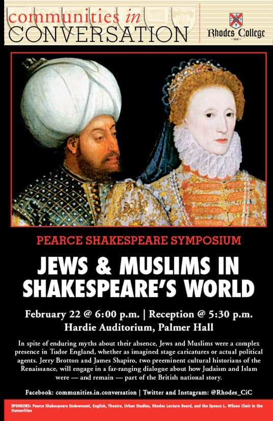 rhodes-college-presents-jerry-brotton-and-james-shapiro-jews-and-muslims-in-shakespeares-world